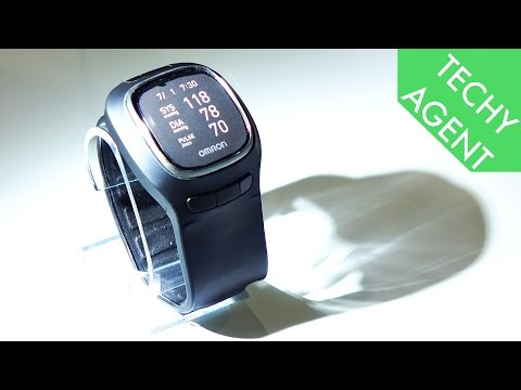 Omron Project Zero Wrist Blood Pressure Monitor - Hands On CES 2016