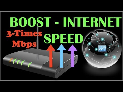 Speed Up Your Internet from router Setting