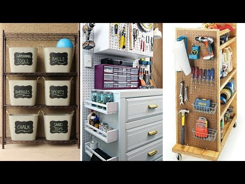 🚗 5 Clever Ideas How to Organize Messy Garage 🚗