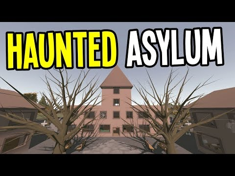 UNTURNED - The ASYLUM is HAUNTED by GHOSTS!! (Ireland Map Multiplayer) - Ep 3