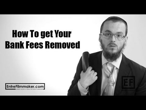 HOW TO GET YOUR BANK FEES WAIVED
