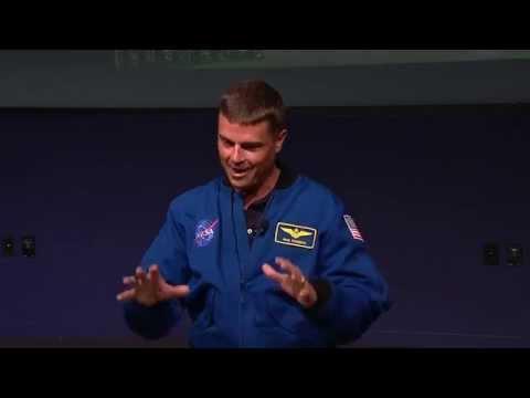 Expedition 41 flight Engineer Astronaut Reid Wiseman Gives Presentation at NASA HQ