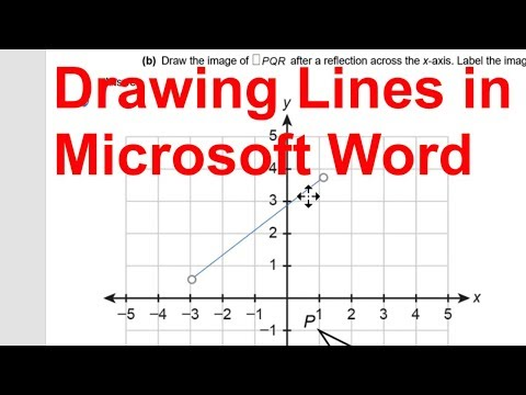Drawing Lines in Microsoft Word 2016