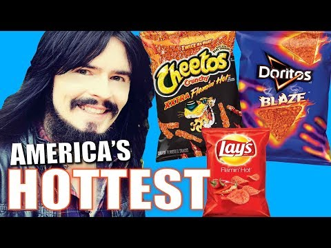 Irish People Try AMERICA's HOTTEST CHIPS!! - ( Lays, Cheetos, Doritos ) - 'Xxtra Flamin Blaze'