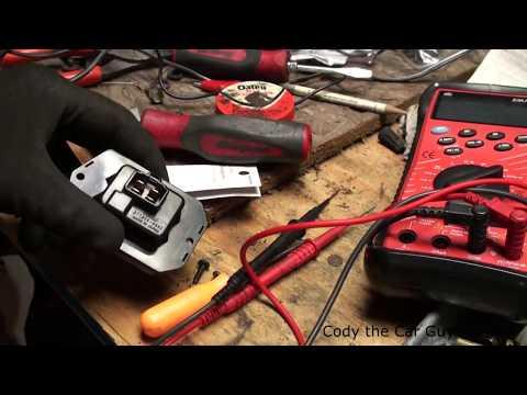 Honda blower fan wont turn on resistor block repair simple and easy
