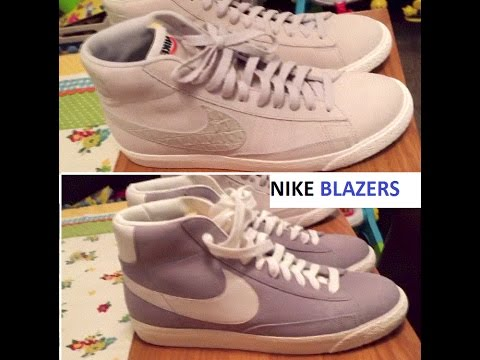 Nike Blazers High Tops & Nike Blazers Mid Tops Difference between Trainers QUICK 1 Min Review