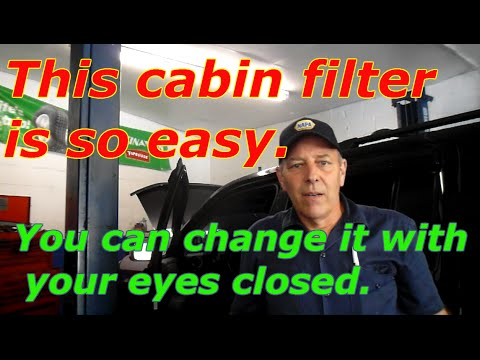How to replace the cabin filter on a 2012 Honda Pilot