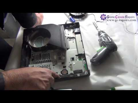 PS3SLIM   250GB CECH 2002x   Fan & Thermal Compound Replacement by gc repairs com