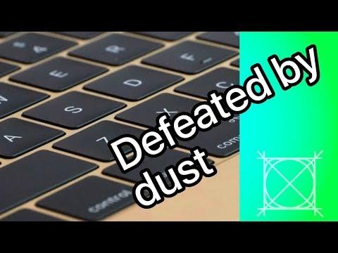 [Essay] Dust kills the Butterfly Keyboard