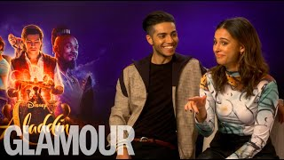 Download Aladdin's Naomi Scott & Mena Massoud's dating advice: ″Smash his serpent″ Video