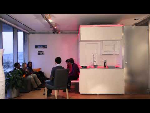MIT Media Lab CityHome: What if 200 ft2 could be 3x larger?