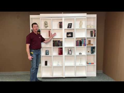 Pivoting Bookcase Murphy