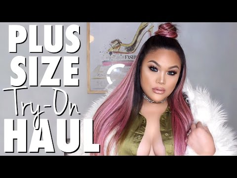 Plus Size Try on Haul + cute drone