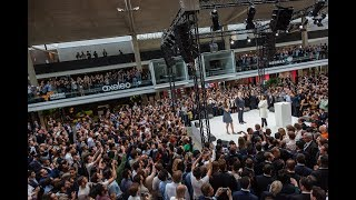 STATION F Big Launch Party with Emmanuel Macron