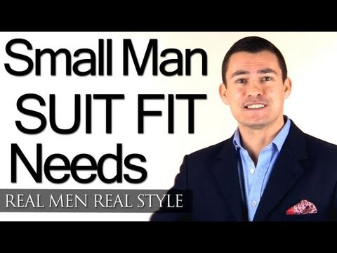 Men's Suit Jackets & Proportion - Understanding Suit Jacket Fit Needs Of Small Men - Style Tips