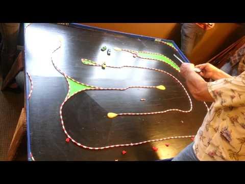 Mini rc car race track