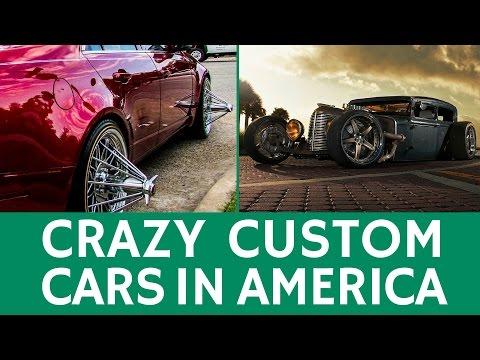 Crazy CUSTOM CARS in America & popular car mods, styles or cultures