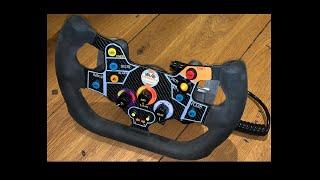 Porsche 911 GT3-R Replica 1 Steering Wheel SimRacing DIY