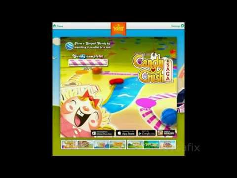candy crush white screen fix
