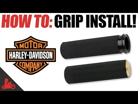 How To Install Grips on a Motorcycle!