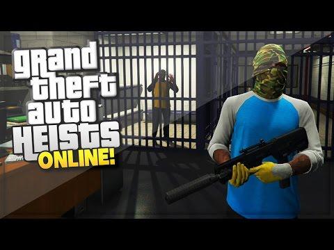 GTA 5 Heist Online Update Gameplay! 'SECRET POLICE RAID' (GTA 5 Online HEIST Gameplay)