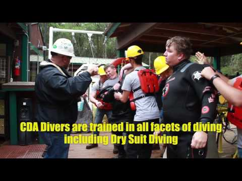Deep Water Training Center at the Commercial Dive Academy
