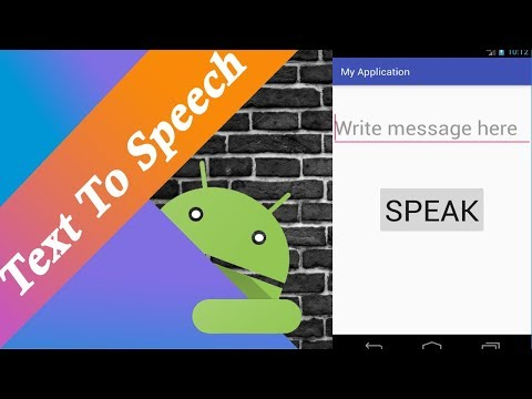 Text To Speech in Android(kotlin)