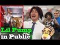 Lil Pump gucci Gang X esketit Singing In Public