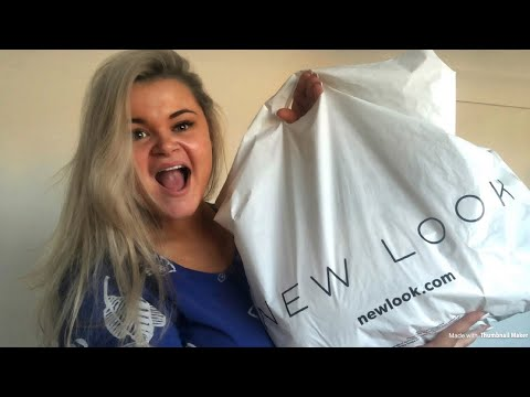 New Look Haul, glass in my foot, packing my suitcase & general chit chat! | vlog