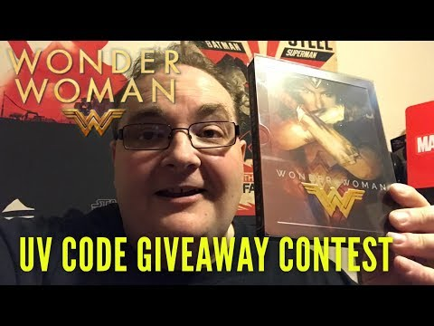 UV Code Giveaway Contest - WONDER WOMAN
