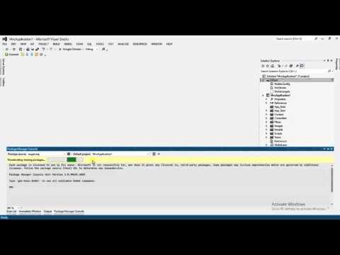 Nuget package restore for missing packages