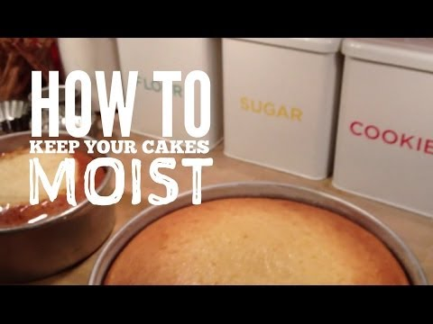 How to Keep Your Cakes Moist | Greggy Soriano