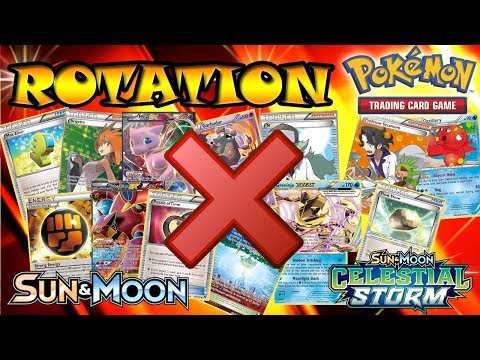 ROTATION Season 2018-2019 - Which cards & decks will be gone!? - Pokemon TCG