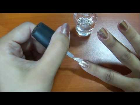How to use a nail polish thinner [Tutorial]
