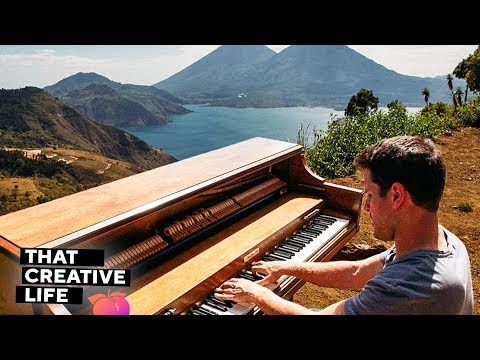 Dotan Negrin - Traveling the World With An Upright Piano (#9)