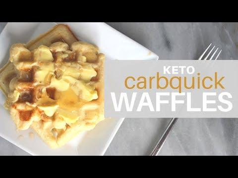 **1 NET CARB** KETO   Carbquik Waffles   Grain + Gluten Free