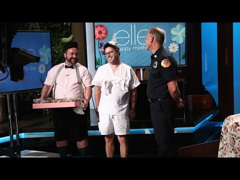 Ellen's Experts Are Standing By for the Mother's Day Show