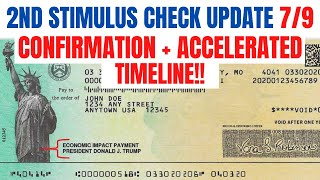 Second Stimulus Check  Confirmation and Timeline from White House