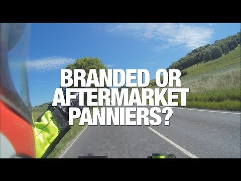 ★ WHY BUY BRANDED PANNIERS ★ TOURING ENGLAND ON A MOTORCYCLE