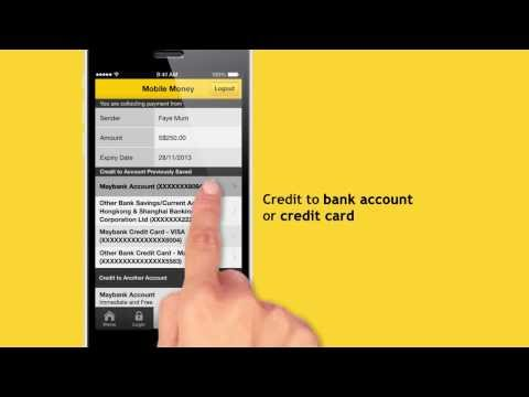 Maybank Mobile Money: How to send and collect (Singapore Only)