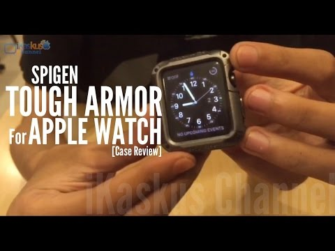SPIGEN Tough Armor For Apple Watch - Case Review by iKaskus Indonesia
