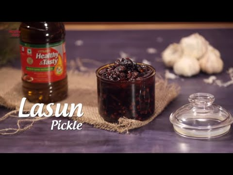 Instant Garlic Pickle Recipe | How To Make Lehsun ka Achaar | Poondu Oorukai | Pickles Of India