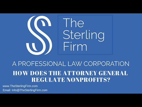 HOW DOES THE ATTORNEY GENERAL REGULATE NONPROFITS?