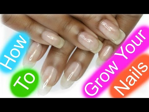 NAIL HACK | HOW TO GROW YOUR NAILS FAST | Dearnatural62