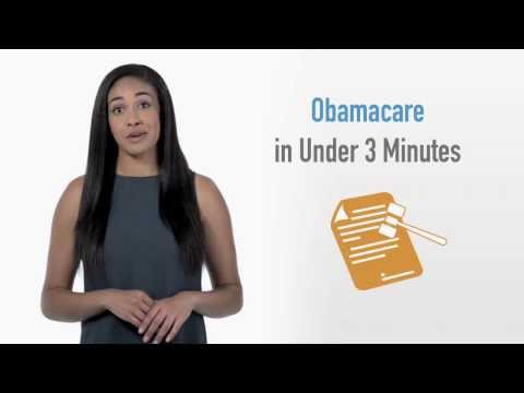 How Does Obamacare Work (In UNDER 3 Minutes)