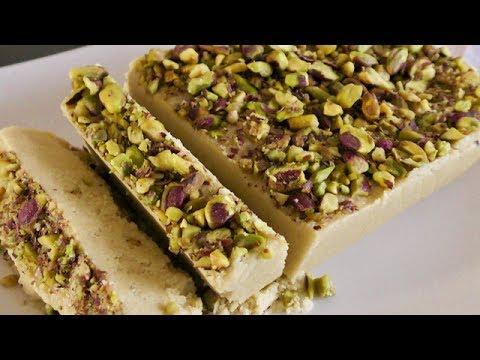 Easy Halva Shekari - Halva Ardeh - Sesame Tahini Halva - آموزش درست کردن حلوا ارده
