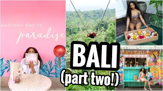 Download TRAVEL VLOG ✈️ | BALI, INDONESIA ∙ PART TWO | SURFING, GATES OF HEAVEN, WATERFALL, BALI SWING! Video