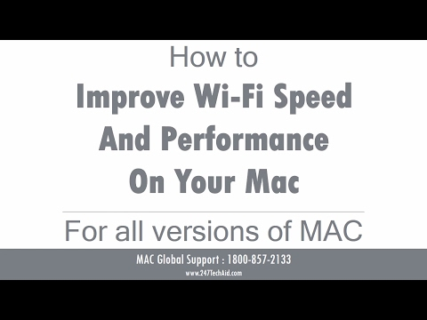 How to Improve Wi Fi Speed and Performance On Your Mac