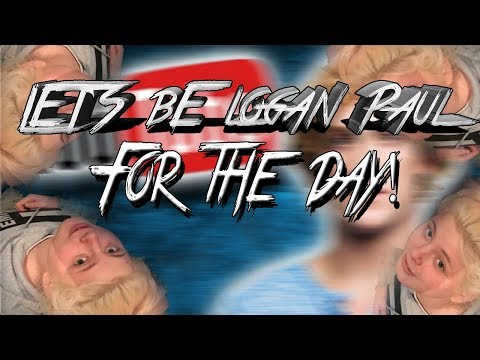 Vlogging like LOGAN PAUL!!