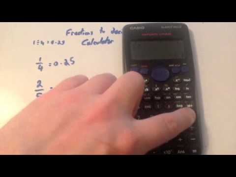Fractions to Decimals Calculator - Corbettmaths